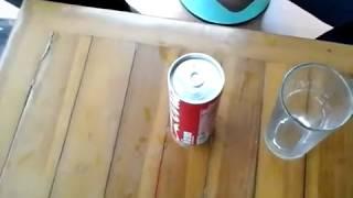 Kompor Unik dari Kaleng Coca-Cola