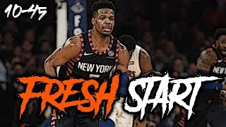 Dennis Smith Jr. Making The Most Of His FRESH START In New York!