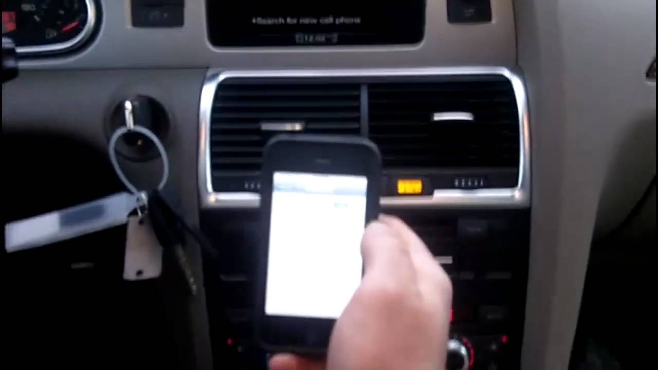 How To Pair Bluetooth To Audi Mmi Youtube