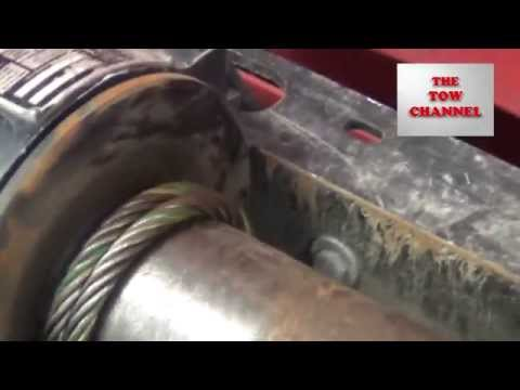 Replacing A Winch Cable on a Rollback