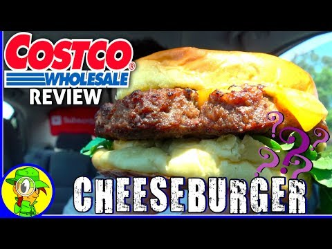 Costco® | Cheeseburger Review! 🛒🍔