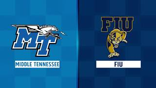 Highlights: Middle Tennessee at FIU, Week 7