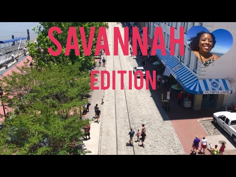 Best Places To Eat In Savannah, Georgia | Food And Travel Vlog 2017