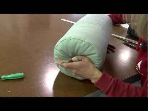 How to Make Neckroll Pillow Covers or Bolster Pillow