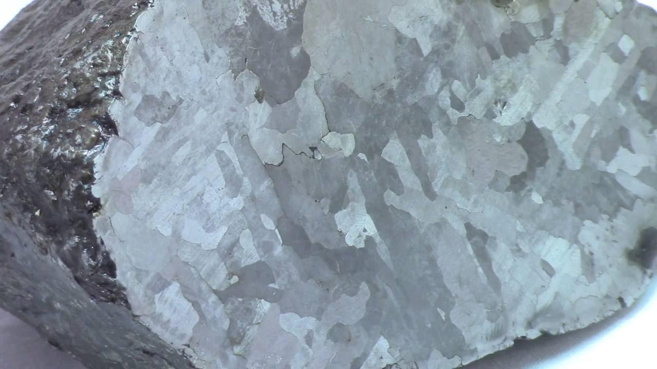 Campo Del Cielo Meteorite Half 3390 Gram With Widmanstatten Pattern Youtube