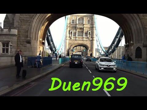 London Streets (537.) - London Bridge - Tower Bridge - Aldgate - Hackney