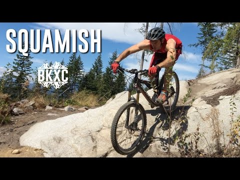 Mountain Biking in Squamish, British Columbia