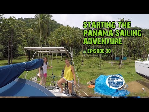 Starting The Panama Sailing Adventure  (The Sailing Family) Ep.20