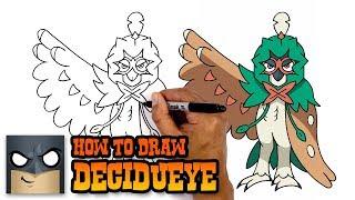 How to Draw Decidueye | Pokemon (Art Tutorial)