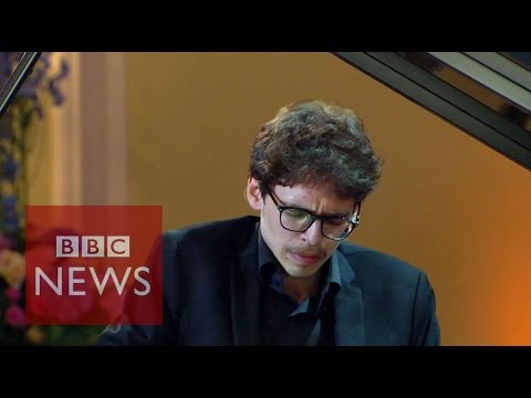 Lucas Debargue: Self-taught pianist scales heights of success - BBC News