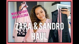 ZARA HAUL & SANDRO HAUL SUMMER 2018 | CA$$IE THORPE