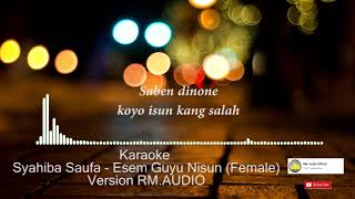 Karaoke Esem Guyu Nisun Lyric Osing Banyuwangi