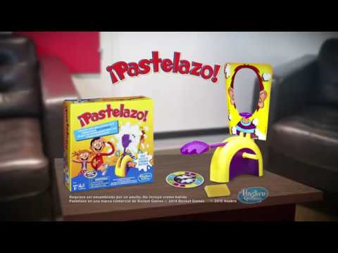 Hasbro Gaming Pastelazo Juego De Mesa Youtube