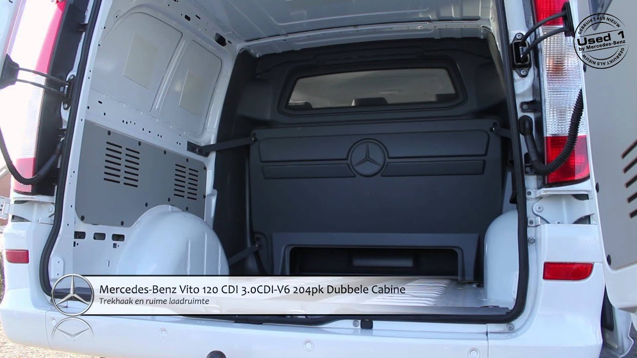 mercedes vito 120 cdi 3 0cdi v6 204pk dubbele cabine. Black Bedroom Furniture Sets. Home Design Ideas