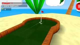 Golfpartee-3d mini golf game for Android
