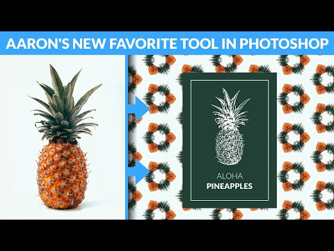 Create Patterns & Vectors from Any Image | Photoshop 2020