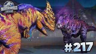 OMEGA 09 TAKES ON MAXED RAJASTEGA!!! || Jurassic World - The Game - Ep217 HD