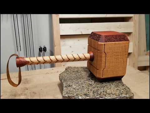 Building Thor's Hammer - Mjölnir