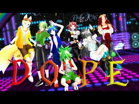 MMD Dope - Sonic Team (Remake/Version two)