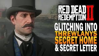 Glitching Into Trewlany's Secret Home & Secret Letter! Red Dead Redemption 2 Secrets