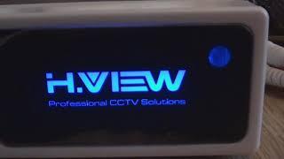 Демонстрация работы камер наблюдения H.VIEW