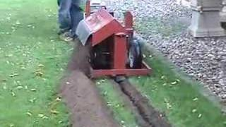 Trenchnedge Trencher 13hp Irrigation & Deep Drain Tile Model