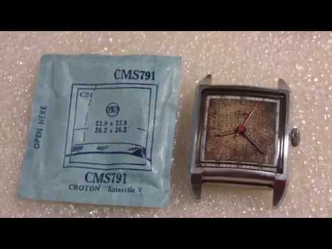 How I kind of found a crystal for a wrist watch, Croton Aquamatic