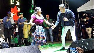 Chapina Moviendo la Churrasquera con Eddy Herrera