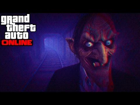 GTA Online - Läskigaste Minispelet Någonsin! (Kurragömma)
