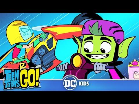 Teen Titans Go! Россия   Супермашины   DC Kids
