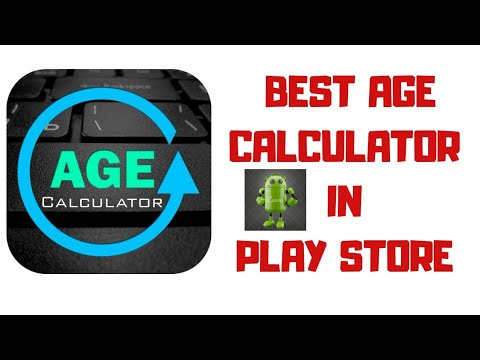 #Best Age Calculator In Playstore || #Android