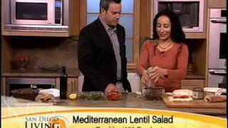 Mediterranean Lentil Salad Recipe Using Trader Joe's