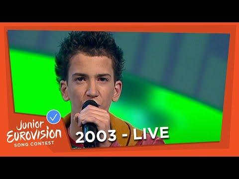 Roel - Mijn Ogen Zeggen Alles - The Netherlands - 2003 Junior Eurovision Song Contest