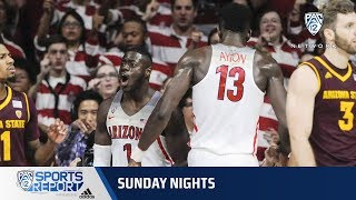 Highlights: No. 17 Arizona men's basketball defeats No. 3 Arizona State in top-20 showdown