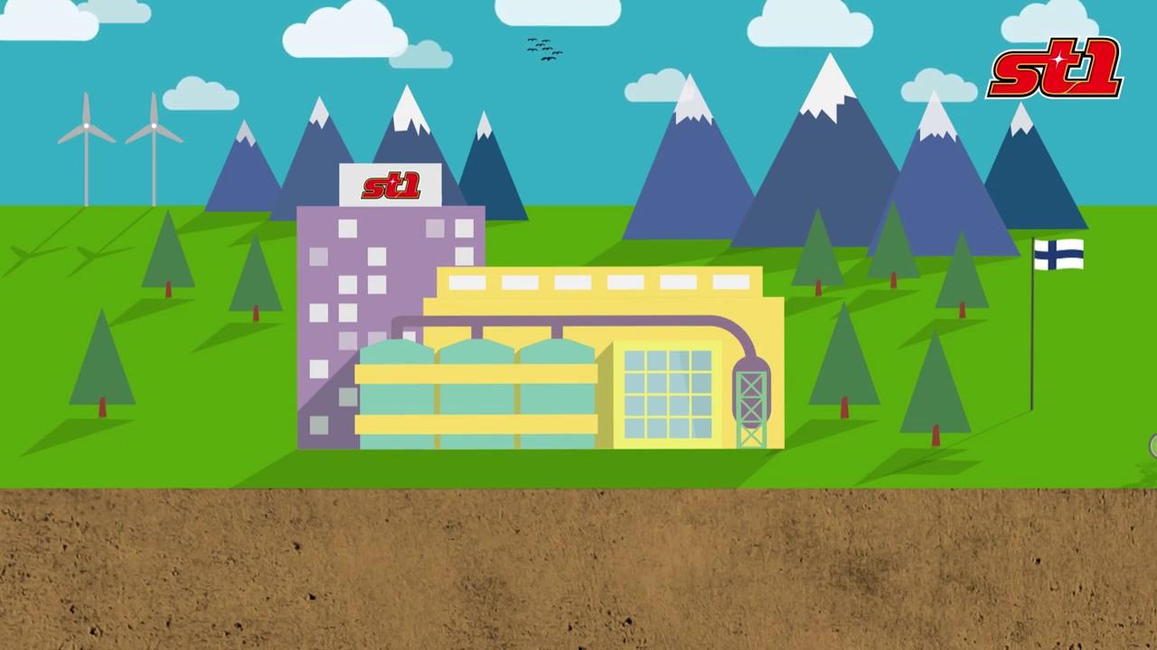 Geotermisk djupvärme - St1 borrar djupare för en bättre miljö