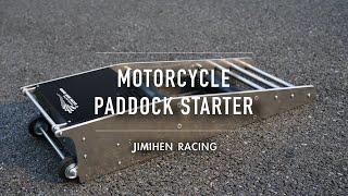 Motorcycle Paddock starter Roller starter レースバイク用エンジンスターター