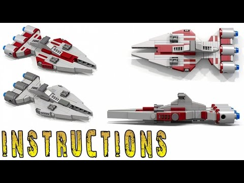 INSTRUCTIONS: STAR WARS Arquitens Class Light Cruiser (Micro ...