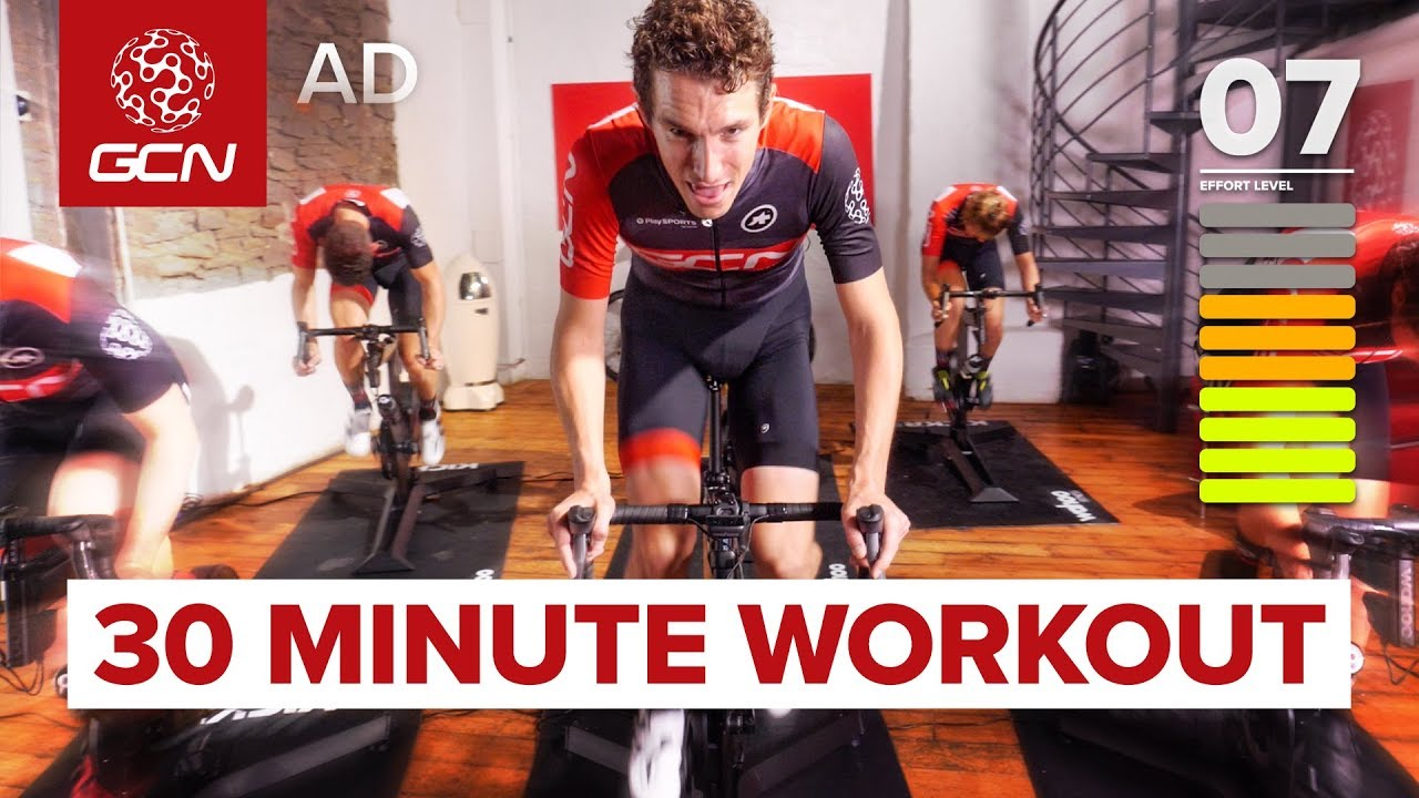 Download HIIT Indoor Cycling Workout | 30 Minute Intervals: Fitness Training