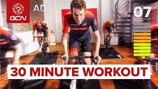 HIIT Indoor Cycling Workout | 30 Minute Intervals: Fitness Training