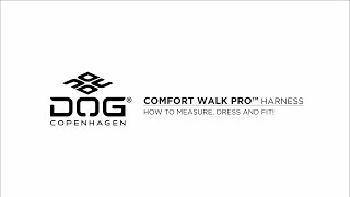 Comfort Walk Pro™ Harnais vidéo