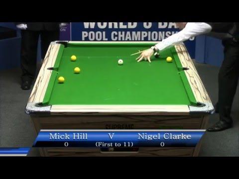 Mick Hill V Nigel Clarke (Men's Final) - World Eightball Pool Championship 2015