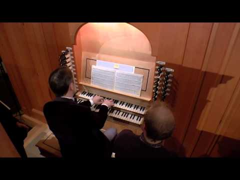 J.S. Bach: Pièce d'orgue BWV 572 played by Olivier Latry at the University of Notre Dame