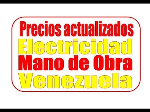 Precios de mano de obra electricidad octubre 2017 youtube - Precio vallas de obra ...
