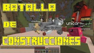 BATALLA DE CONSTRUCCION - Build Battle en Español   Hypixel - Minecraft  