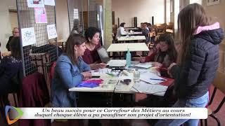 Carrefour des métiers - Ensemble scolaire Jeanne d'Arc, Avallon (89