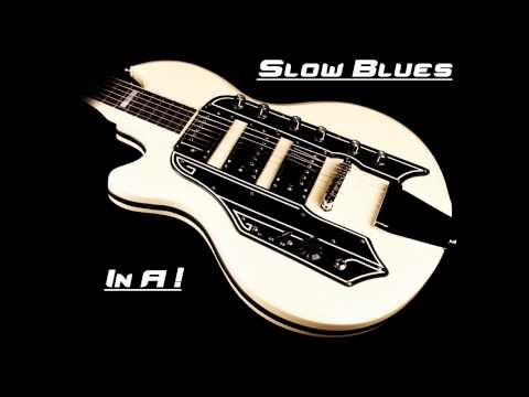 Backing Track 7 : Slow Blues in A minor !