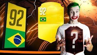 GENIALNY WALKOUT 92! NAJDZIWNIEJSZY! TRAFIAMY KARTY KRZYKU! FIFA 19 ULTIMATE TEAM!