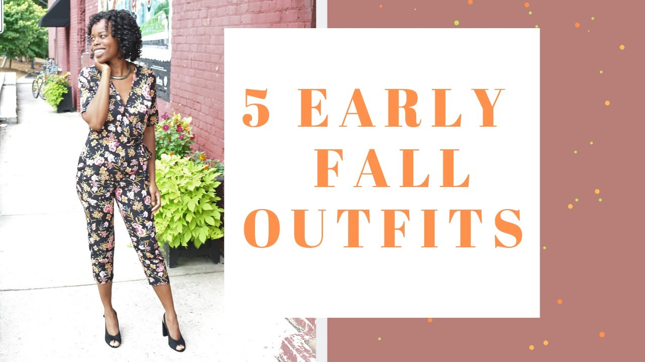 EARLY FALL OUTFIT IDEAS | 2019 LOOKBOOK 2
