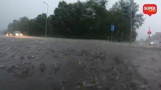 Zalany Gorzów i Szczecin