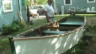"Wheelbarrow Boat - ""irish Pennant"" Wooden Boat"